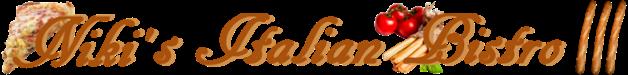 Nikis Italian Bistro III Logo