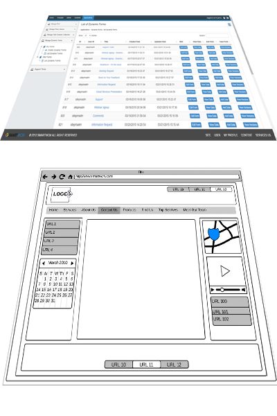 Smartwcm Template and navigation